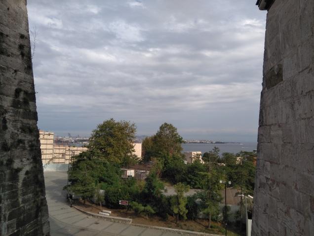 View of Bosphorus from the Hagia Sophia